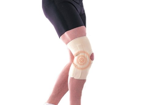 BODY SCULPTURE Magnetic Knee Support