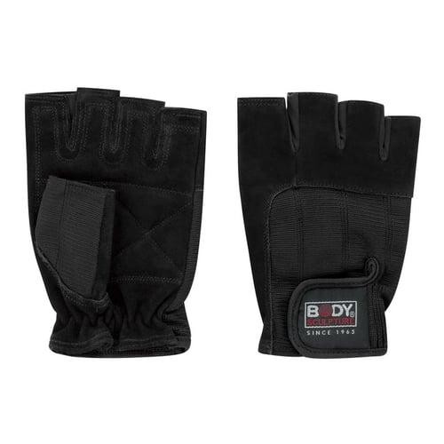 BODY SCULPTURE Spandek Leather Fitness Gloves Size M