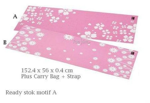 BODY SCULPTURE Yoga Mat PVC 4mm