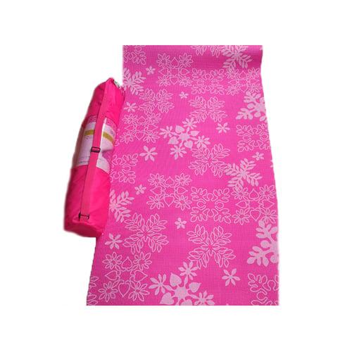 Fiesta Yoga Mat PVC 6mm Pink Tua