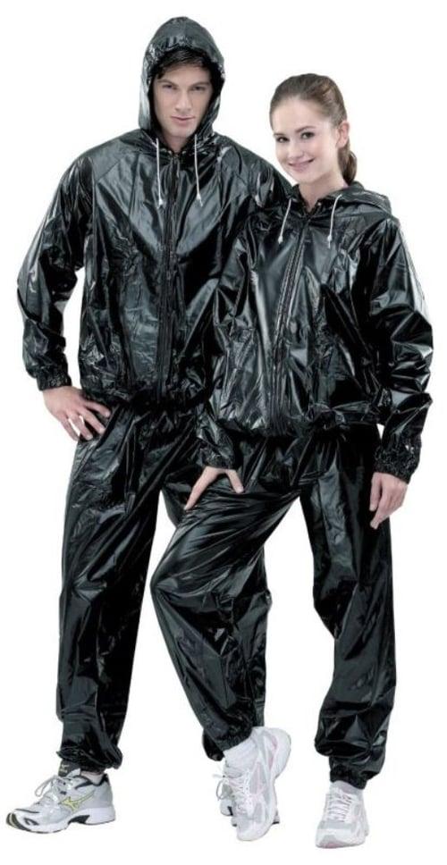 Siken Sauna Suit Size M Hitam