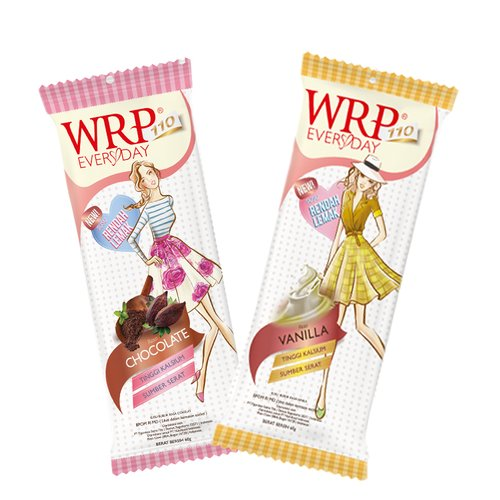 WRP Everyday Low Fat Milk Vanilla and Chocolate Isi 2pcs