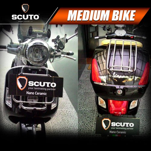SCUTO Nano Ceramic Medium Bike