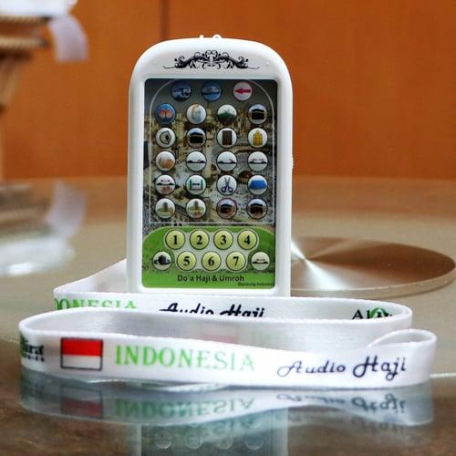 Audio Digital Bimbingan Haji Umroh dan Buku Panduan