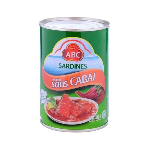 ABC Sardine Chilli 425gr