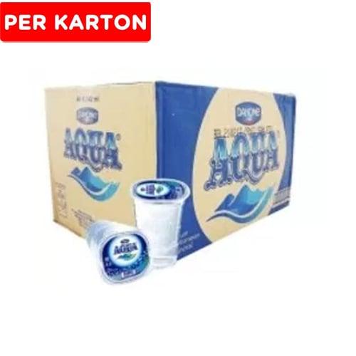 AQUA Air Mineral Gelas 240ml 1Karton Isi 48pcs