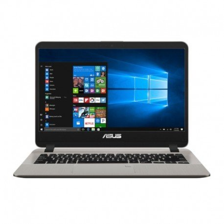 harga ASUS A407UF BV062T Fingerprint Notebook   Gold Intel Core i3 7020U VGA GeForceMX130 4GB 1TB 14  Win10 Ralali.com