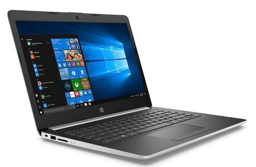 harga HP 14 CM0091AU Notebook Silver AMD A4 9125 4GB 128SSD Win10 Ralali.com
