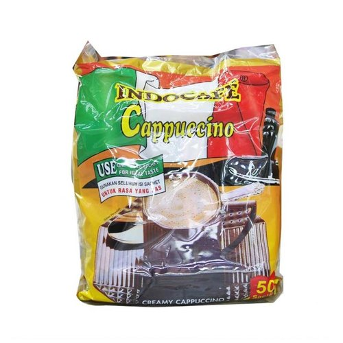 INDOCAFE Cappuccino 25gr Isi 50 Sachet