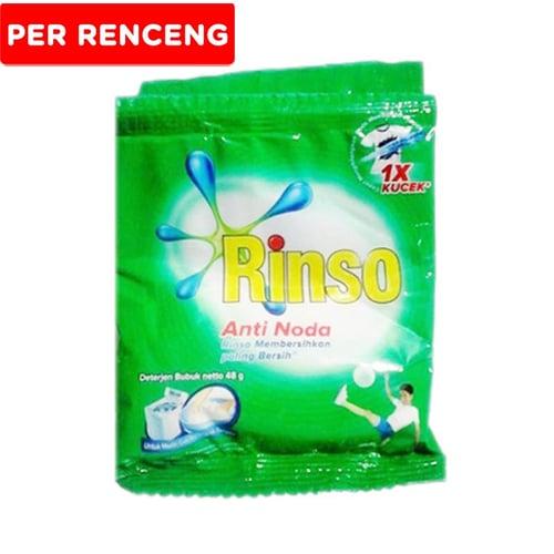 RINSO Anti Noda Sachet 6x48gr