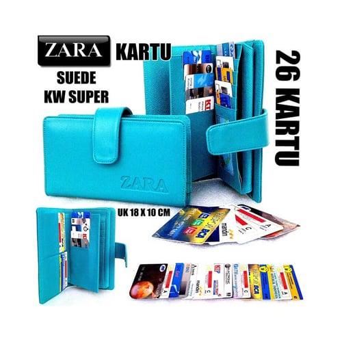 ZARA Dompet Kartu Card Wanita KW Super Tosca