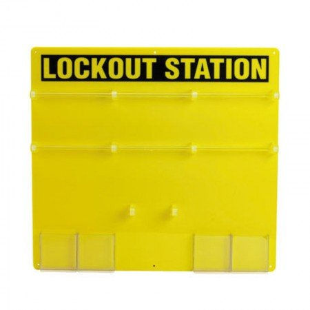 BRADY 50992 36-Lock Board (Board Only)