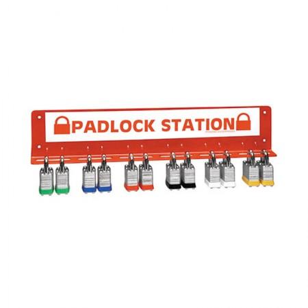 BRADY LR360E Large Padlock Station