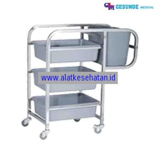 Dish Trolley (Meja Peralatan Makanan