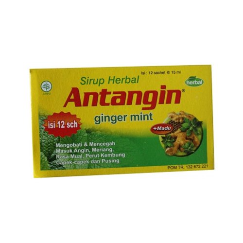 Antangin Syrup Ginger Mint 12x15ml