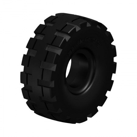 BLICKLE BSEV 3.00-4-RP Super Elastic Solid Rubber Tyres with Ribbed Profile Type:BSEV 3.00-4/2.50-4-RP