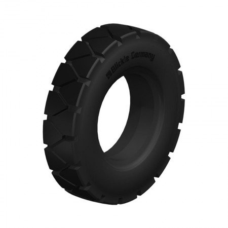 BLICKLE BSEV 3.00-4-RP Super Elastic Solid Rubber Tyres with Ribbed Profile Type:BSEV 4.00-4-RP
