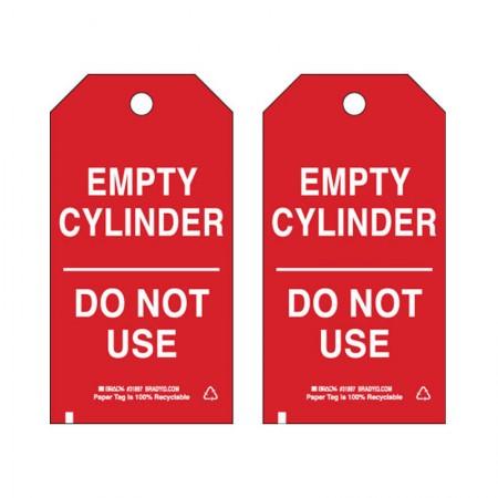"""BRADY 17923 B-853 Cardstock """"Empty Cylinder"""" 5./34"""""""