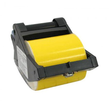 "BRADY 64813 B-580 Tape Black/Yellow 4""X90'"