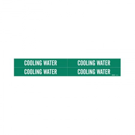 BRADY 7070-4 Cooling Water Green