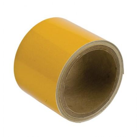 """BRADY 78988 Reflective Stripes Yellow 3""""X5YARDS"""
