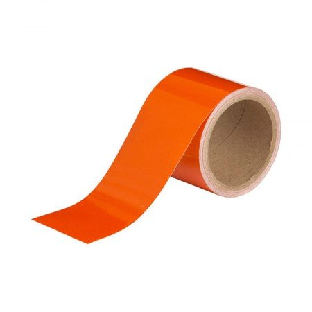 """BRADY 78990 Reflective Stripes Orange 3""""X5YARDS"""