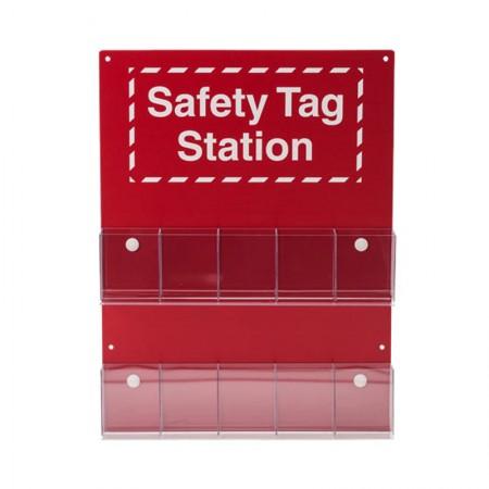 BRADY 81773 Safety Tag Station