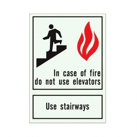 """BRADY 90718 B-347 """"Use Stairways"""" 10X7"""