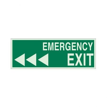 """BRADY 90924 B-347 """"Emergency Exit"""""""