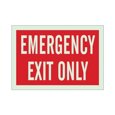 """BRADY 90944 B-347 """"Emergency Exit"""""""