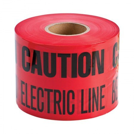 BRADY 91296 B-720 Caution: Buried Electric Line Bel