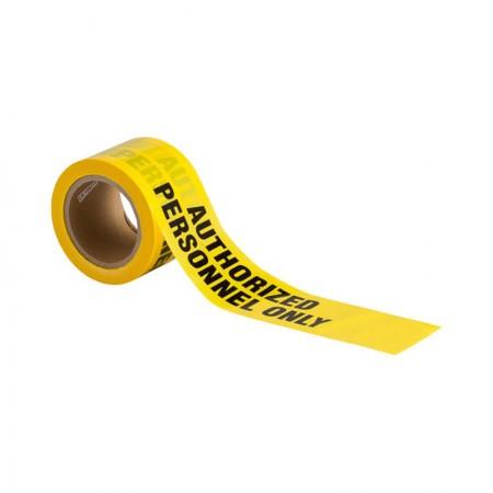 BRADY 91468 Barricade Tape Black/Yellow