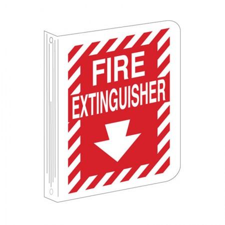 "BRADY 94008 Safety Sign ""Fire Extinguiser"""