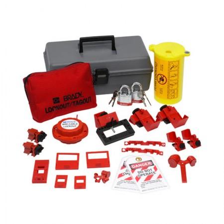 BRADY 99313 Electrical Lockout Toolbox W/Lock
