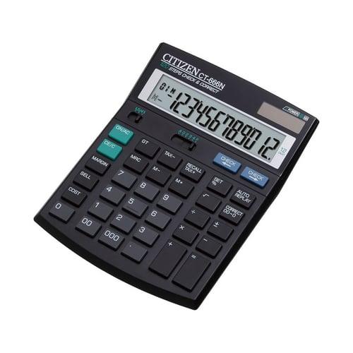 CITIZEN Tax Calculator 12 Digit CT 666