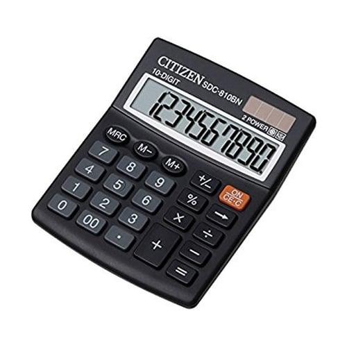 CITIZEN Kalkulator 10 Digit SDC 810BN