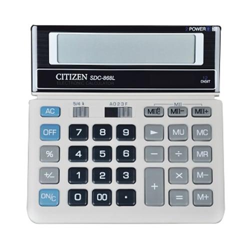 CITIZEN Kalkulator 12 Digit SDC 868L