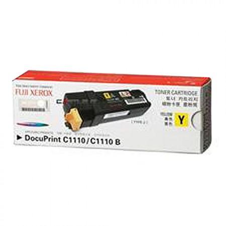 FUJI XEROX Toner Cartridge 2000 Pages CT201117 Yellow