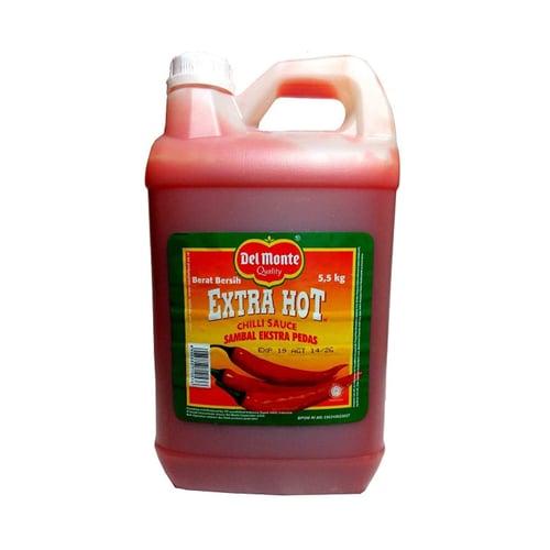DELMONTE Chilli Sauce Extrahot Jerigen 5.5Kg