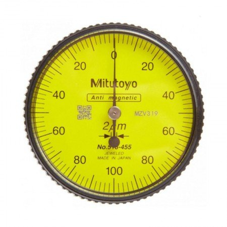 MITUTOYO Dial Test Indicator 513-455E MT0000451 0.2/0.002 mm