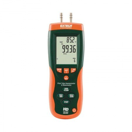 EXTECH Anemometer Pitot Tube And Manometer HD350