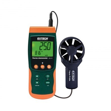 EXTECH Thermo Anemometer SDL310 Nist SD Logger With