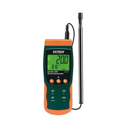 EXTECH Hot Wire Cfm Thermo-Anemometer SDL350