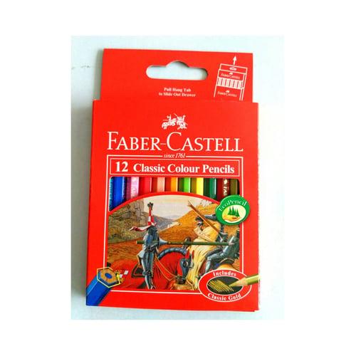 FABER CASTELL Clasic Pendek 12 Warna