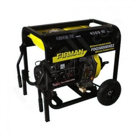 FIRMAN Diesel Generator 4.5KW FDG5800DXE2