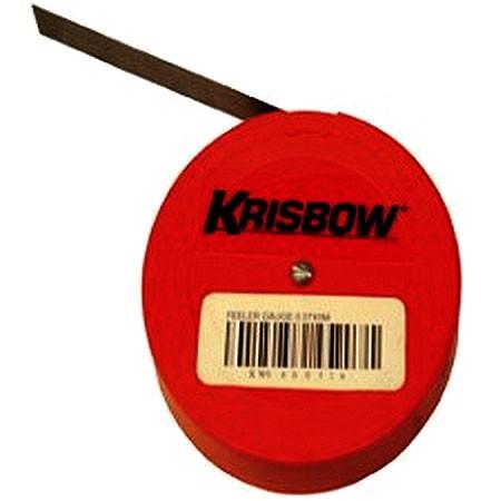 KRISBOW KW0600516 Feeler Gauge 0.07X5M type:KW0600517