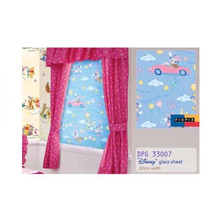 HYUNDAE Fixpix Glass Sheet Sticker Kaca DPG 33007