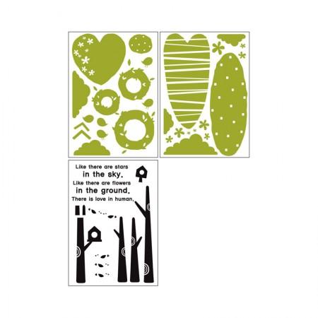 HYUNDAE Fixpix Graphic Sticker Love Tree GS 58849