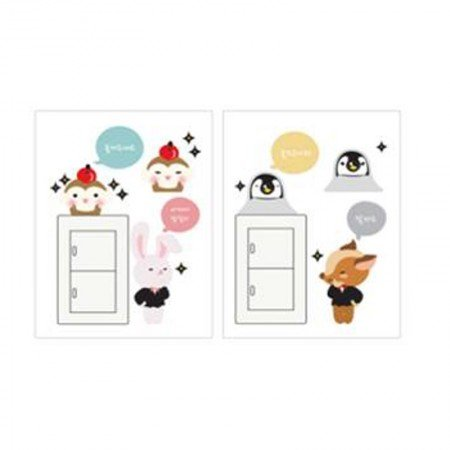 HYUNDAE Fixpix Point Sticker Cute Fox SCS 58253