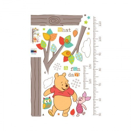 HYUNDAE Fixpix Point Sticker Pooh-O-Meter DS 58369 50